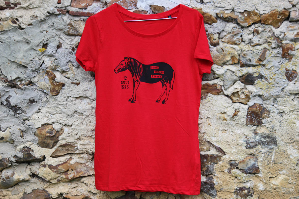 T-Shirt BIO Equus Quagga Quagga, photo 3