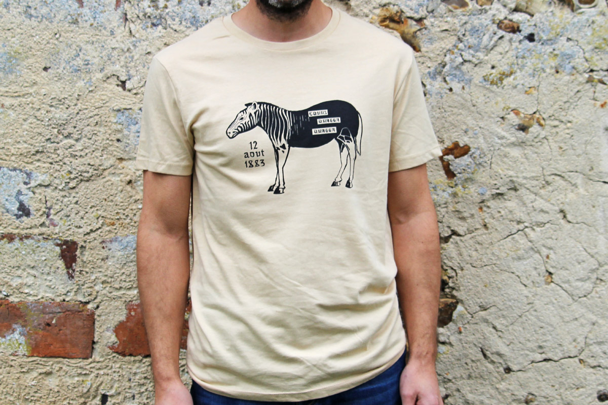 T-Shirt BIO Equus Quagga Quagga, photo 4
